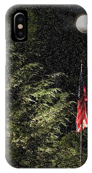 Keeping America  Illuminated.  IPhone Case