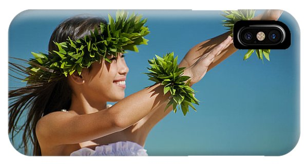 Hawaii iPhone Case - Keiki Hula by Ron Dahlquist - Printscapes