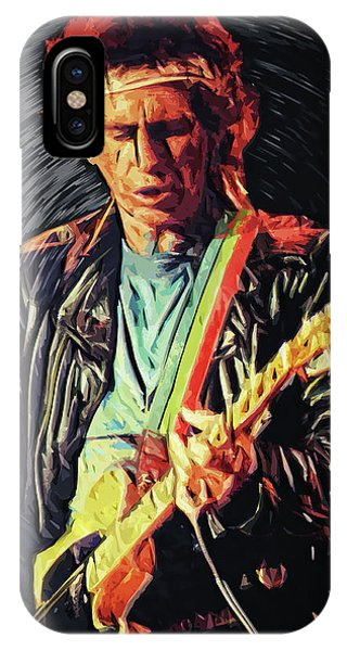Keith Richards IPhone Case
