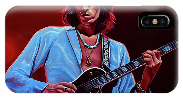 The iPhone Case - Keith Richards The Riffmaster by Paul Meijering