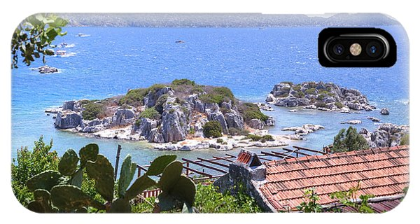 Archipelago iPhone Case - Kekova Archipelago - Turkey by Joana Kruse