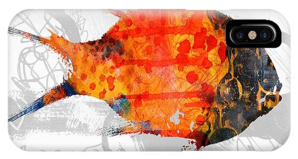 Reef iPhone Case - Kelp Runner by Nancy Merkle