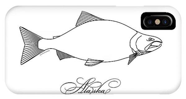 Kenai Sockeye Alaska IPhone Case