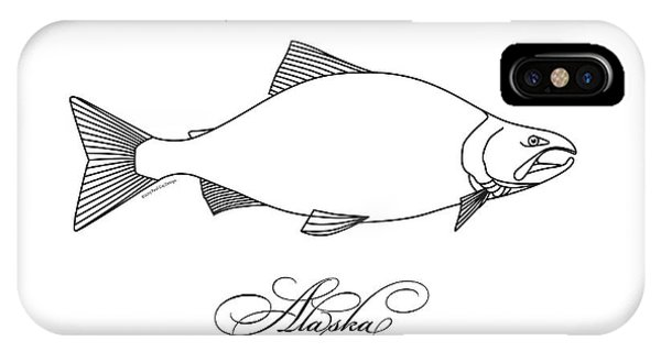 Kenai Sockeye Alaska IPhone Case