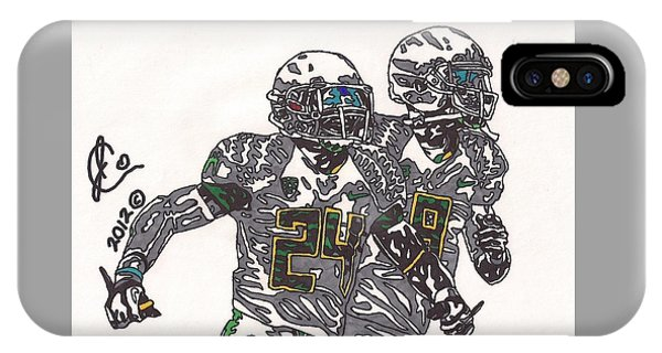 Kenjon Barner And Marcus Mariota IPhone Case
