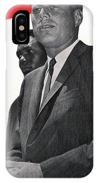 Whitehouse iPhone Case - Kenndy For President by Jon Neidert