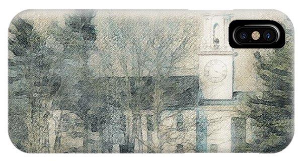 Kennebunkport Church IPhone Case