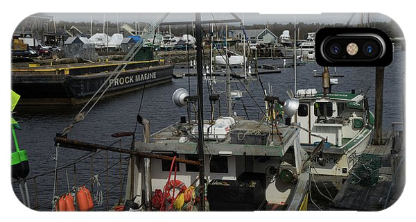 Kennebunkport Harbor In Early Winter IPhone Case