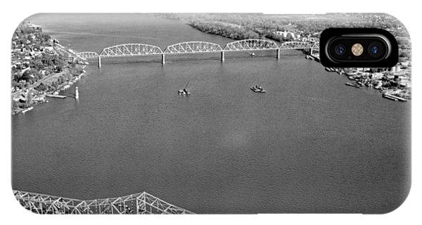 Kennedy Bridge Construction IPhone Case