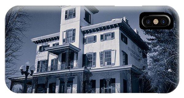 Kennedy-supplee Mansion IPhone Case