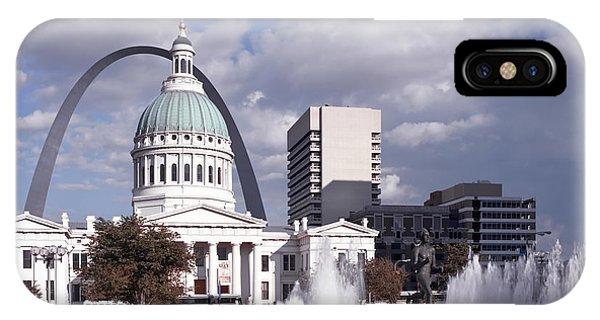 Kiener Plaza - St Louis IPhone Case