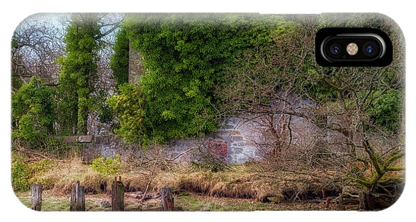 IPhone Case featuring the photograph Kennetpans Distillery Ruins by Jeremy Lavender Photography