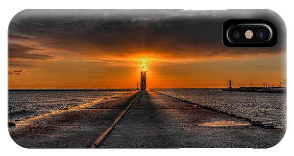 Kenosha Lighthouse Beacon IPhone Case