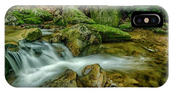 iPhone Case - Kens Creek In Cranberry Wilderness by Thomas R Fletcher