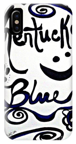 Kentucky Blue IPhone Case