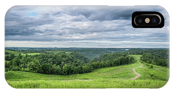 Kentucky Hills And Clouds IPhone Case
