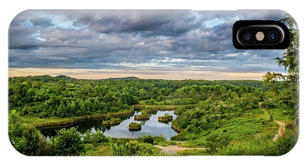 Kentucky Hills And Lake IPhone Case