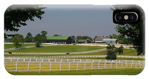 Kentucky Horse Park IPhone Case