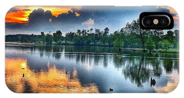 Kentucky Sunset June 2016 IPhone Case