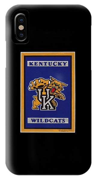Ky Wildcats Logo T-shirt IPhone Case