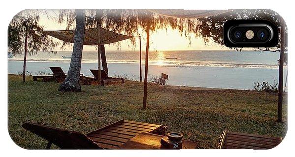 Exploramum iPhone Case - Kenyan African Beach Sunrise 2 by Exploramum Exploramum