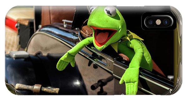 Kermit In Model T IPhone Case