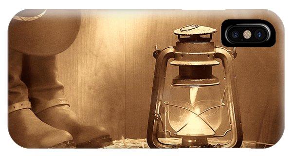 Kerosene Lamp IPhone Case