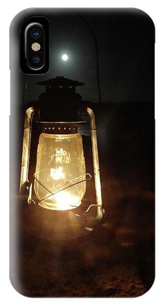 Kerosine Lantern In The Moonlight IPhone Case
