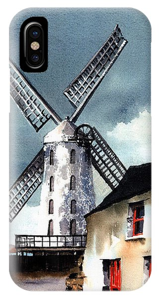 Kerry Windmill At Blennerville IPhone Case
