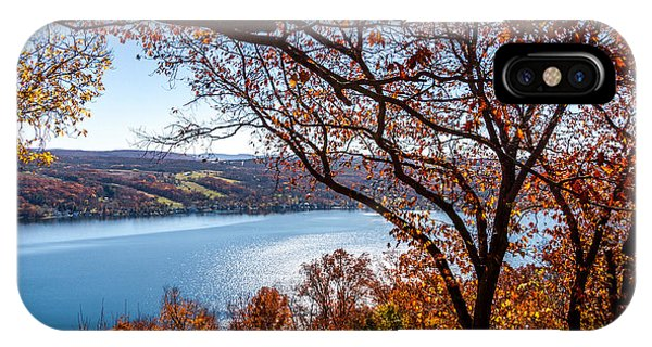 IPhone Case featuring the photograph Keuka Lake Vista by William Norton