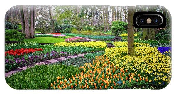 Keukehof Botanic Garden 2015 IPhone Case