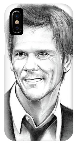 Bacon iPhone Case - Kevin Bacon by Greg Joens