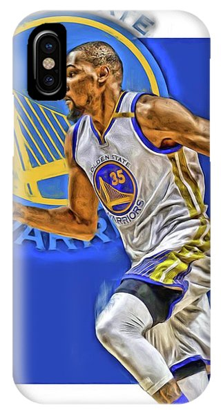 Kevin Durant Golden State Warriors Oil Art IPhone Case