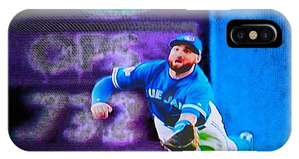 Kevin Pillar In Action II IPhone Case