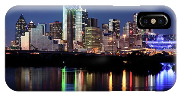 Jerry's Dallas Skyline IPhone Case