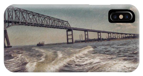 Key Bridge Annapolis Maryland Usa IPhone Case