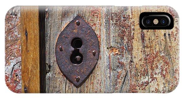 Key Hole IPhone Case
