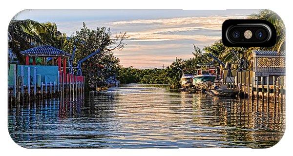 Key Largo Canal IPhone Case