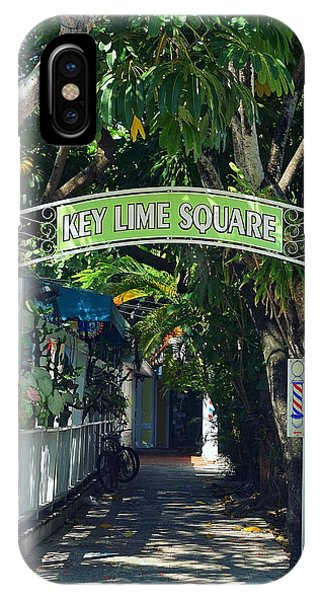 Key Lime Square IPhone Case
