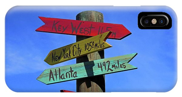 Key West 165 Miles IPhone Case