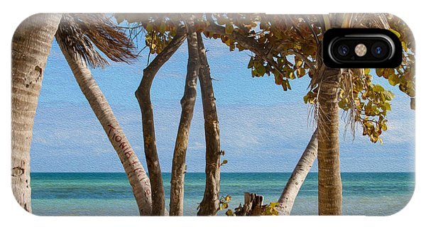 Key West Afternoon IPhone Case