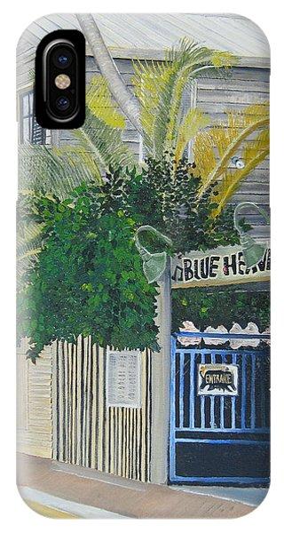 Florida iPhone Case - Key West Blue Heaven by John Schuller