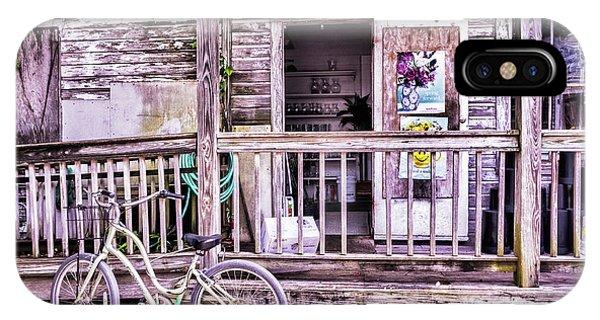 Key West Flower Shop IPhone Case
