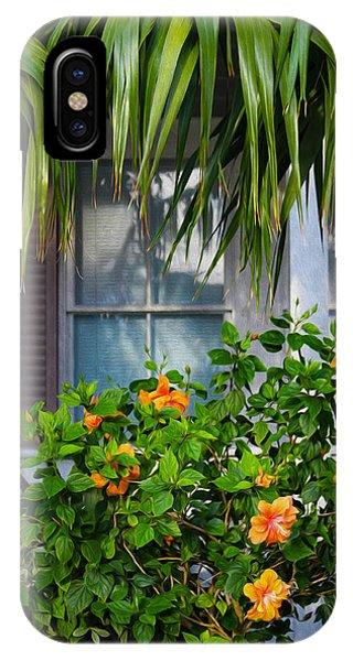 Key West Garden IPhone Case