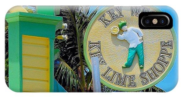 Key West Key Lime Shoppe IPhone Case