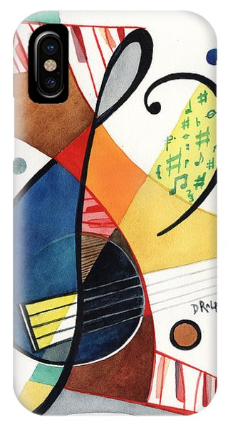 Keys And Clef IPhone Case