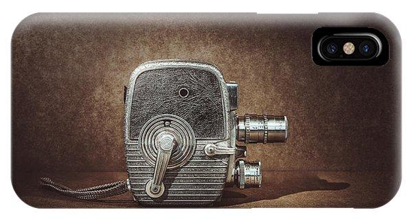 Vintage Camera iPhone Case - Keystone Capri K28 by Scott Norris