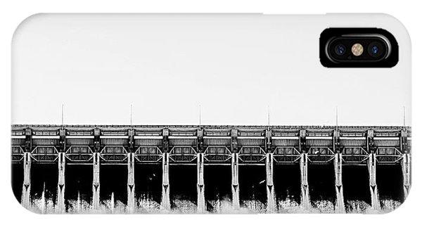 Keystone Dam Panoramic IPhone Case