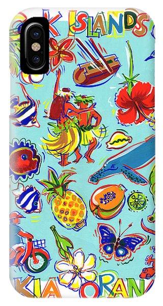 Kia Orana Cook Islands IPhone Case