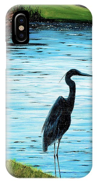 Kiawah Heron IPhone Case